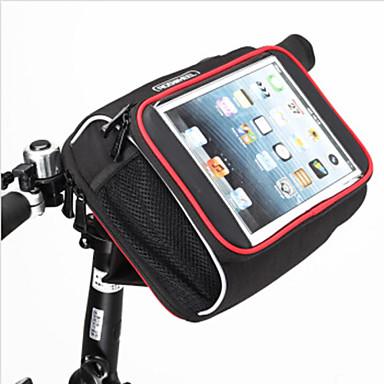 ROSWHEEL Kerékpáros táska 8LLKormánytáska Vízálló Viselhető Ütésálló Kerékpáros táska Vízálló anyag Terylene Kerékpáros táska -