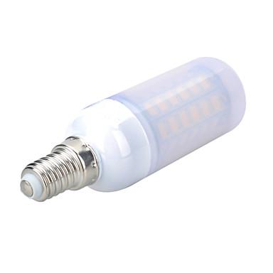 800-900 lm E14 LED-maïslampen B 56 leds SMD 5730 Decoratief Warm wit Koel wit AC 220-240V