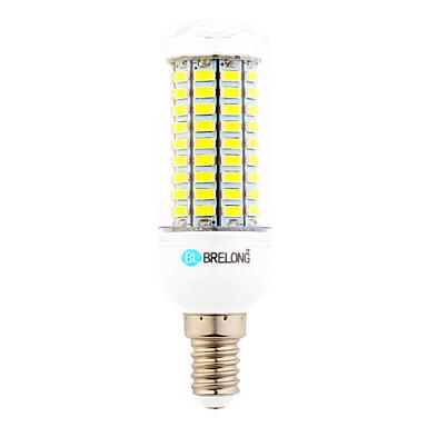 6W E14 LED Corn Lights T 99 leds SMD 5730 Warm White Cold White 550lm 6000-6500;3000-3500K AC 220-240V