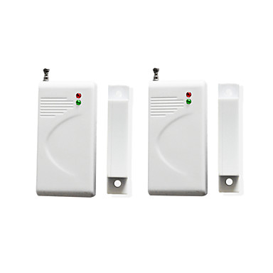 2db / tétel belépési riasztó ablak nyitásérzékelő érzékelő detektor vezeték nélküli 433 csak riasztó rendszert szállító 15338