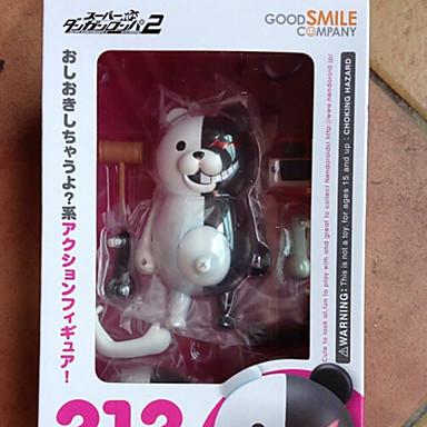 애니메이션 액션 피규어 에서 영감을 받다 코스프레 Monokuma 10 CM 모델 완구 인형 장난감
