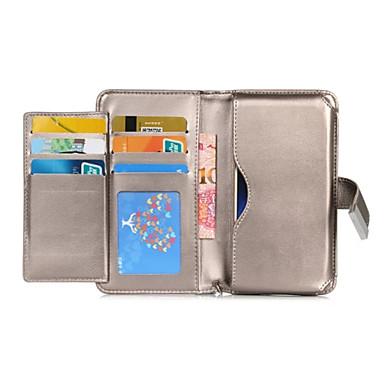 Case Kompatibilitás LG LG tok Kártyatartó Pénztárca Héjtok Egyszínű Kemény PU bőr mert LG V20 LG G6