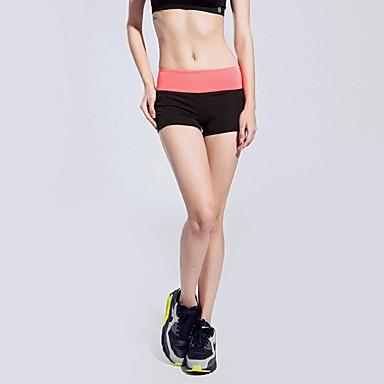 여성용 달리기 반바지 하단 빠른 드라이 통기성 부드러움 봄 여름 겨울 가을 요가 운동&피트니스 달리기