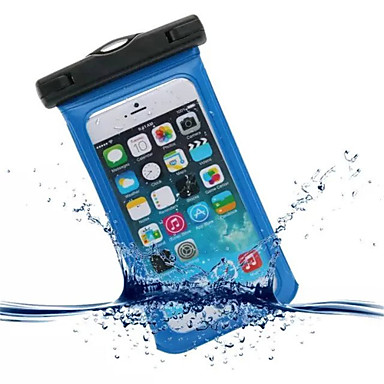 Case For iPhone 6s Plus iPhone 6 Plus iPhone 6s iPhone 6 iPhone 5 iPhone 5C Universal iPhone 4/4S Waterproof with Windows Pouch Bag Solid