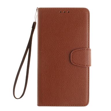Mert Nokia tok Pénztárca / Kártyatartó / Állvánnyal Case Teljes védelem Case Egyszínű Kemény Műbőr NokiaNokia Lumia 640 XL / Nokia Lumia