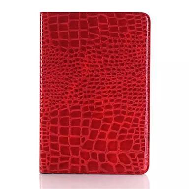 Case Kompatibilitás iPad Mini 3/2/1 Állvánnyal Automatikus készenlét / ébresztés Héjtok Tömör szín PU bőr mert iPad Mini 3/2/1