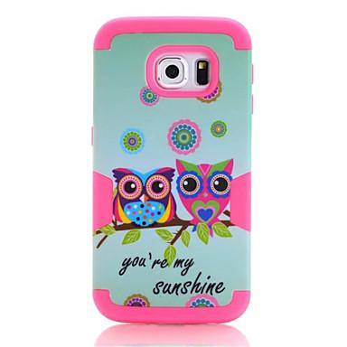 Mert Samsung Galaxy S7 Edge Ütésálló / Minta Case Hátlap Case Páncél PC Samsung S7 edge