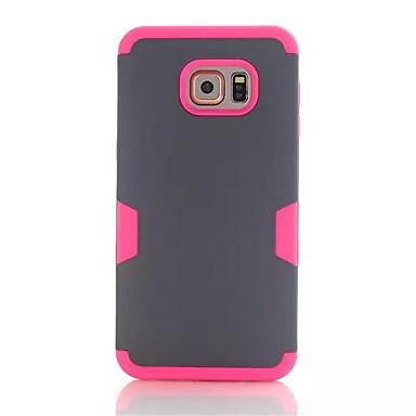 Mert Samsung Galaxy tok Ütésálló Case Hátlap Case Páncél PC Samsung S6 edge plus
