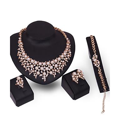 Pentru femei Seturi de bijuterii Imitație de Perle Ștras Personalizat Modă Euramerican Bijuterii Statement Nuntă Petrecere Ocazie specială