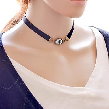 Női Alak Rövid nyakláncok Ötvözet Rövid nyakláncok Napi Hétköznapi Jelmez ékszerek