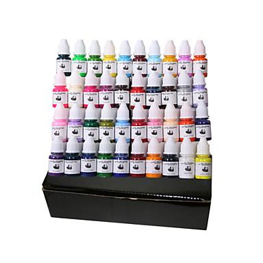 40 색 문신 안료 8 ML 세트 문신 공급 잉크