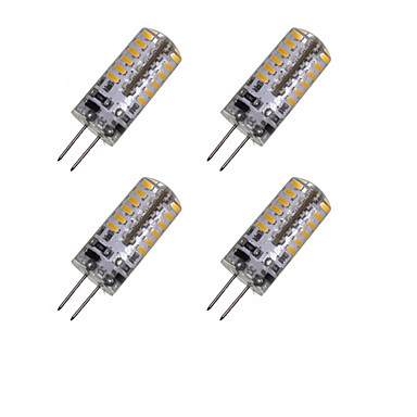 2W G4 LED-maïslampen MR11 48 leds SMD 3014 Decoratief Warm wit Koel wit 150-200lm 3000-3500 6000-6500K DC 12 AC 220-240 AC 12V