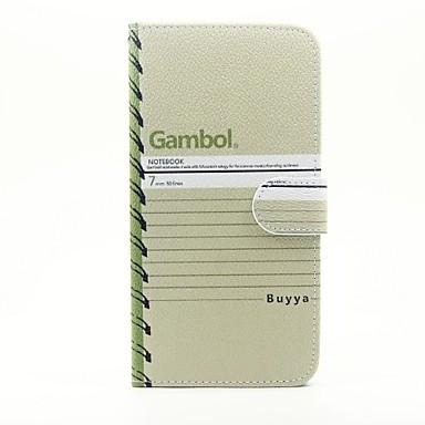 Pentru Portofel Titluar Card Cu Stand Întoarce Maska Corp Plin Maska Cuvânt / expresie Greu PU piele pentru AppleiPhone 7 Plus iPhone 7