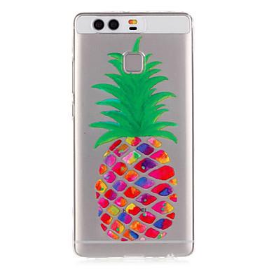 Mert Huawei tok / P9 / P9 Lite Átlátszó Case Hátlap Case Gyümölcs Puha TPU Huawei Huawei P9 / Huawei P9 Lite
