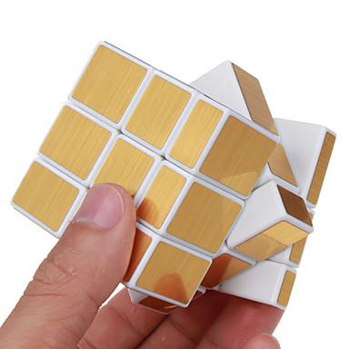 Rubik kocka Shengshou Alien Mirror Cube 3*3*3 Sima Speed Cube Rubik-kocka Puzzle Cube szakmai szint Sebesség Tükör Négyzet Újév