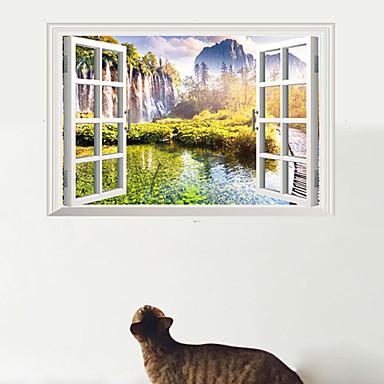 Moda paesaggio 3d adesivi murali adesivi 3d da parete for Adesivi decorativi da parete