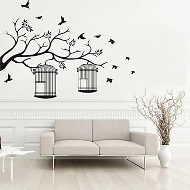 Dekoratív falmatricák - Repülőgép matricák Állatok Alakzatok Botanikus Nappali szoba Hálószoba Fürdőszoba Konyha Étkező Dolgozószoba /
