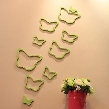 애니멀 / 카툰 / 로맨스 / 정물화 / 패션 / 휴일 / 모양 / 빈티지 / 사람들 / 판타지 / 레져 벽 스티커 3D 월 스티커,Wooden 30*30cm