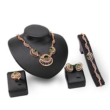 للمرأة مجموعة مجوهرات متعدد الحجر حجر الراين مخصص euramerican في بيان المجوهرات موضة زفاف حزب مناسبة خاصة خطوبة الأحجار الكريمة