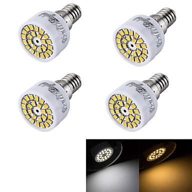 3000/6000 lm E14 LED szpotlámpák R50 24 led SMD 2835 Dekoratív Meleg fehér Hideg fehér AC 220-240V