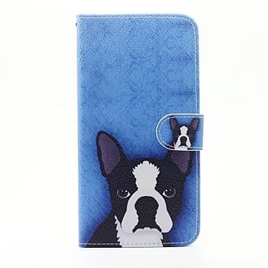 لسوني اريكسون x زا حالة تغطية الكلب نمط بو الجلود الحالات ل اريكسون m4 أكوا