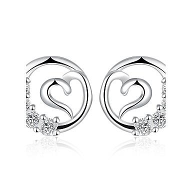 Pentru femei Fete Cercei Stud Cercei Picătură Cristal Design Circular Argilă Circle Shape Bijuterii Nuntă Petrecere Zilnic Casual Costum