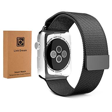 Bracelet de Montre  pour Apple Watch Series 3 / 2 / 1 Apple Bracelet Milanais Acier Inoxydable Sangle de Poignet