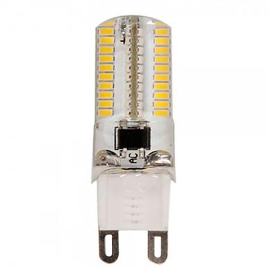 YWXLIGHT® E14/G9/G4/E17/E12/BA15D/E11 5.5W 80SMD 3014 550-600LM Warm/White AC110-130/220-240V