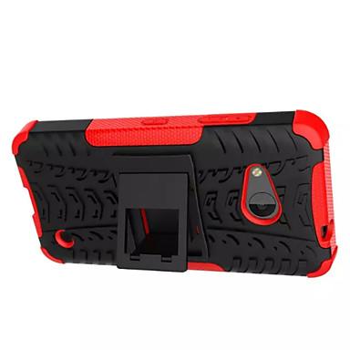 pc + szilikon pajzs állni masszív gumi tok Nokia Lumia 550 anti shock héj héj (vegyes színek)