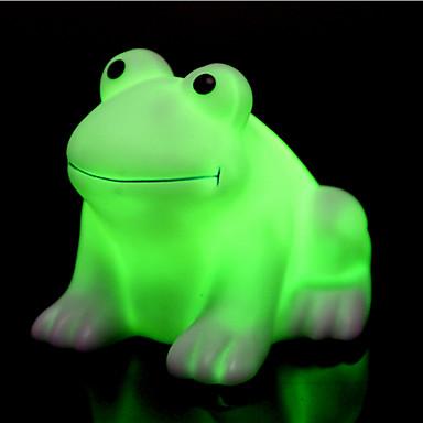 크리 에이 티브 색 변경 다채로운 행복 개구리 주도 밤 빛 높은 품질