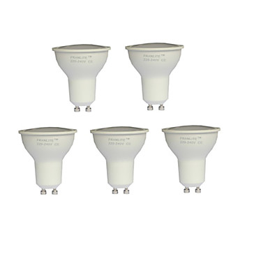 7 W 550-600 lm GU10 LED Σποτάκια MR16 21 leds SMD 2835 Θερμό Λευκό AC 100-240V
