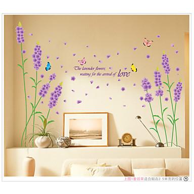 보태니컬 / 로맨스 / 플로럴 / 풍경 벽 스티커 플레인 월스티커,pvc 50*70cm