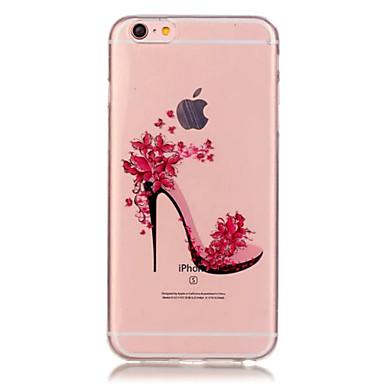 Case Kompatibilitás iPhone 6 Plus iPhone 6 Átlátszó Minta Hátlap Szexi lány Puha TPU mert iPhone 6s Plus iPhone 6 Plus iPhone 6s iPhone 6