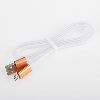 삼성 안드로이드 스마트 폰 일반 케이블 알루미늄 국수의 USB 2.0 충전기 케이블 코드 (1.0 m)