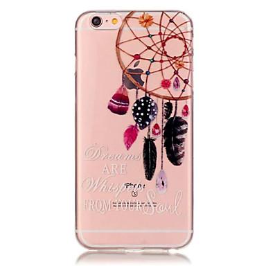 Case Kompatibilitás iPhone 6 iPhone 6 Plus Átlátszó Minta Hátlap Álomfogó Puha TPU mert iPhone 6s Plus iPhone 6 Plus iPhone 6s iPhone 6