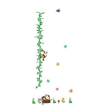 애니멀 / 보태니컬 / 카툰 / 로맨스 / 패션 / 휴일 / 풍경 / 모양 / 판타지 벽 스티커 플레인 월스티커,PVC 155cm x 66cm ( 61in x 26in )