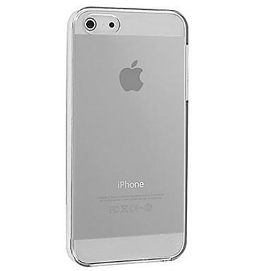 Uyumluluk iPhone X iPhone 8 iPhone 8 Plus iPhone 5 Kılıf Kılıflar Kapaklar Şeffaf Arka Kılıf Pouzdro Tek Renk Yumuşak Silikon için iPhone