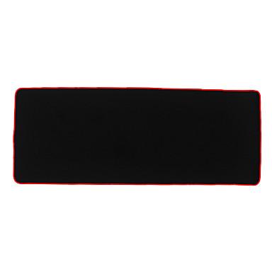 300 * 780 * 4 mm-es szuper vastag egérpad vízálló gaming egérpad zár széle desktop / laptop / számítógép fekete