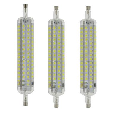R7S LED 콘 조명 T 120 SMD 2835 800 lm 따뜻한 화이트 차가운 화이트 방수 장식 AC 220-240 V 3개