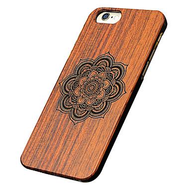 Για Θήκη iPhone 5 Θήκες Καλύμματα Με σχέδια Ανάγλυφη Πίσω Κάλυμμα tok Μάνταλα Σκληρή Ξύλο για iPhone SE/5s iPhone 5