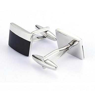 billige Manchetknapper-Sølv Manchetter Legering Kontor / Afslappet Herre Kostume smykker Til