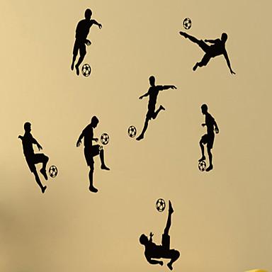 사람 정물 모양 3D 스포츠 Leisure 벽 스티커 플레인 월스티커 데코레이티브 월 스티커, 비닐 홈 장식 벽 데칼 벽