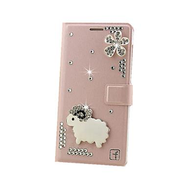 용 화웨이 케이스 / P9 / P9 Lite 지갑 / 카드 홀더 / 충격방지 / 크리스탈 케이스 풀 바디 케이스 3D카툰 캐릭터 하드 인조 가죽 Huawei화웨이 P9 / 화웨이 P9 라이트 / Huawei P9 Plus / Huawei
