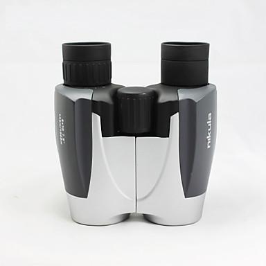 NIKULA 8X30 mm 쌍안경 고해상도 소형 일반적 사용 탐조(들새 관찰) BAK4 멀티 코팅 136m/1000m 중심 초점