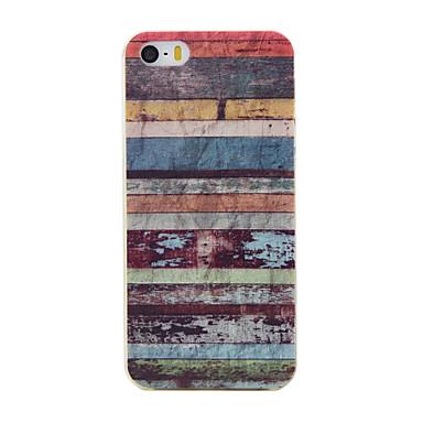 케이스 제품 iPhone SE/5s/5 Apple 아이폰5케이스 패턴 뒷면 커버 라인 / 웨이브 소프트 TPU 용 iPhone SE/5s iPhone 5