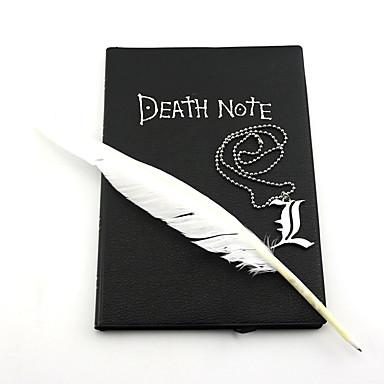Jóias Inspirado por Death Note Fantasias Anime Acessórios para Cosplay Colares Liga Homens Mulheres novo quente