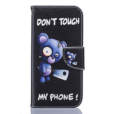 케이스 제품 Samsung Galaxy Samsung Galaxy S7 Edge 카드 홀더 지갑 스탠드 플립 패턴 전체 바디 케이스 꽃장식 소프트 PU 가죽 용 S7 edge S7 S6 edge S6 S5