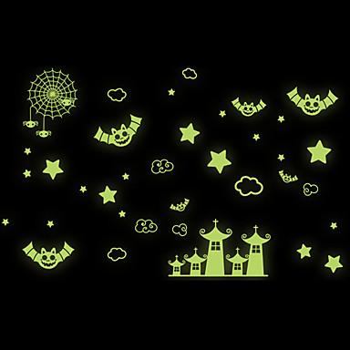 데코레이티브 월 스티커 - 루미너스 월 스티커 모양 거실 / 침실 / 다이닝룸 / 이동가능