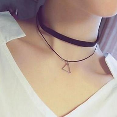 Női Szexi Divat Rövid nyakláncok Csipke Ötvözet Rövid nyakláncok , Napi Hétköznapi