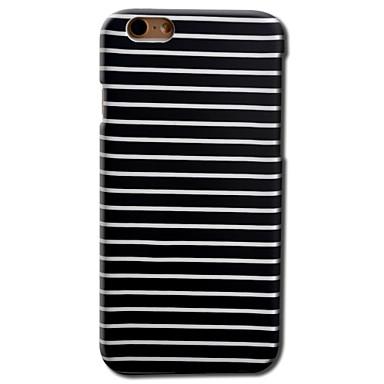케이스 제품 Apple iPhone 8 iPhone 8 Plus iPhone 6 iPhone 6 Plus 패턴 뒷면 커버 라인 / 웨이브 하드 PC 용 iPhone 8 Plus iPhone 8 iPhone 6s Plus iPhone 6s